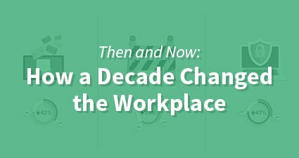 Then and Now: How a Decade Changed the Workplace