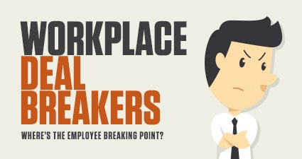Workplace Deal Breakers: Where's the employee breaking point?