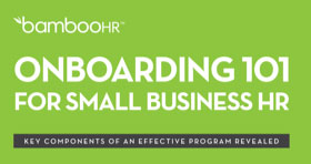 Onboarding 101 for SMall Business HR