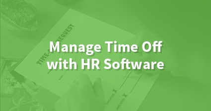 Manage Time Off with HR Software