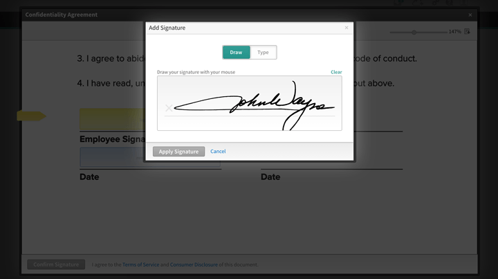Sign Documents Electronically